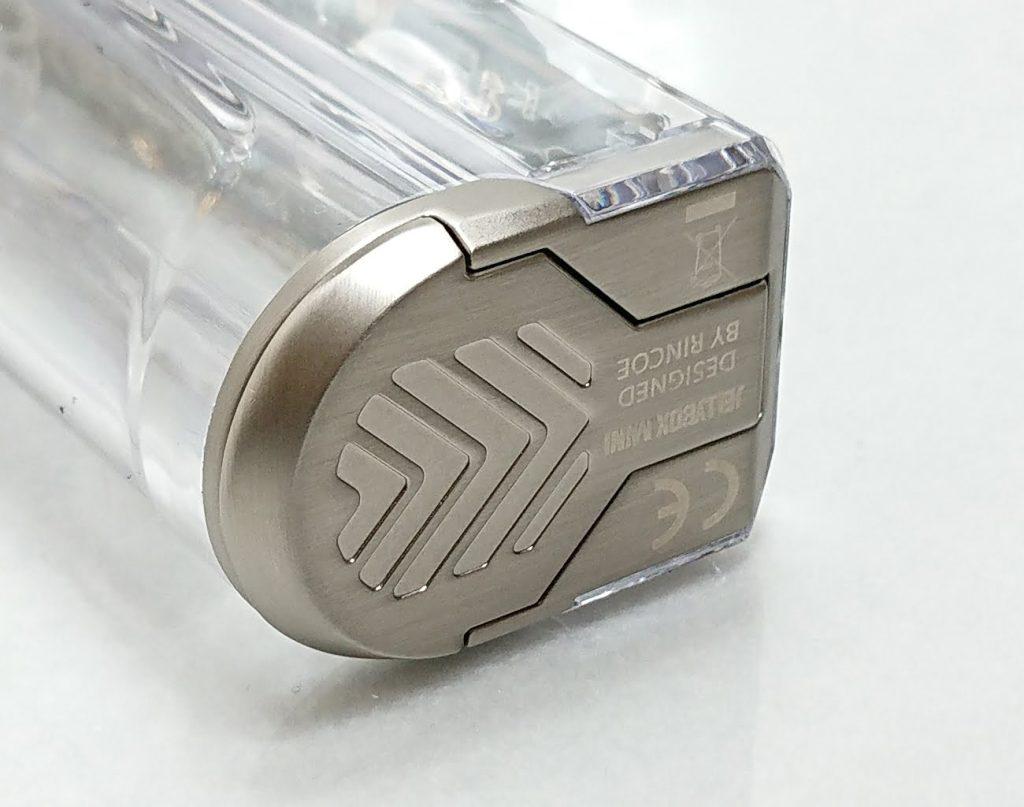 DSC 0271 - 【Rincoe】jellybox MINI 80W スターターキットをレビュー!~フルスケルトンのテクニカルMOD~