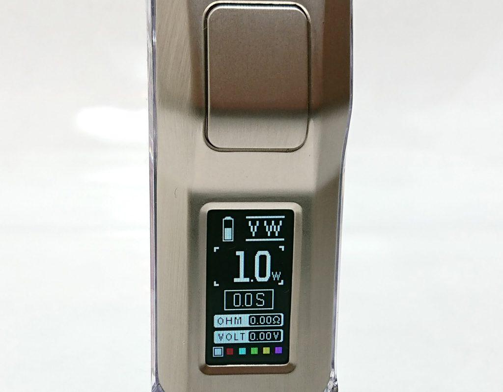 DSC 0278 - 【Rincoe】jellybox MINI 80W スターターキットをレビュー!~フルスケルトンのテクニカルMOD~