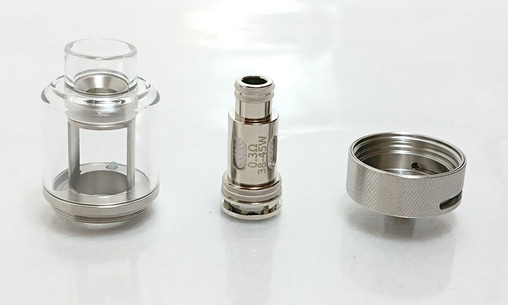 DSC 0290 - 【Rincoe】jellybox MINI 80W スターターキットをレビュー!~フルスケルトンのテクニカルMOD~