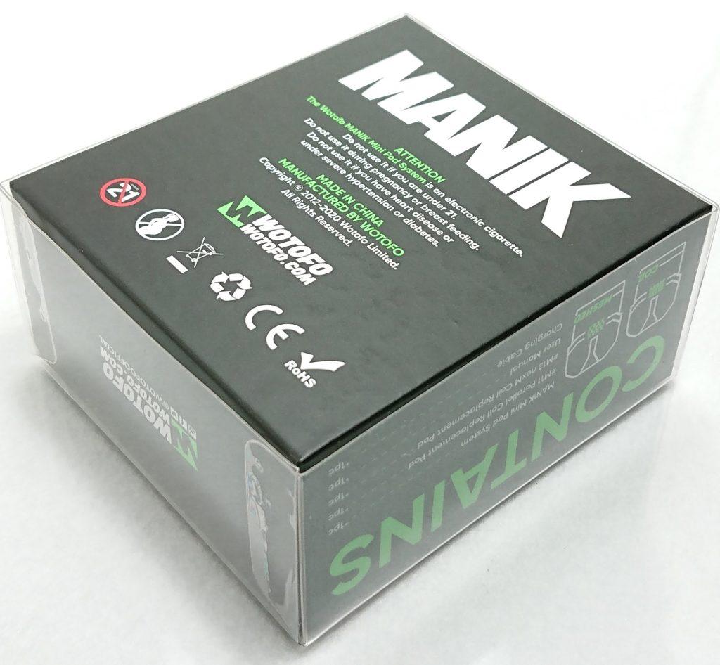 DSC 0319 - 【Wotofo】 Manik Mini Podをレビュー!~レザーが印象的なコンパクトPOD型デバイス~