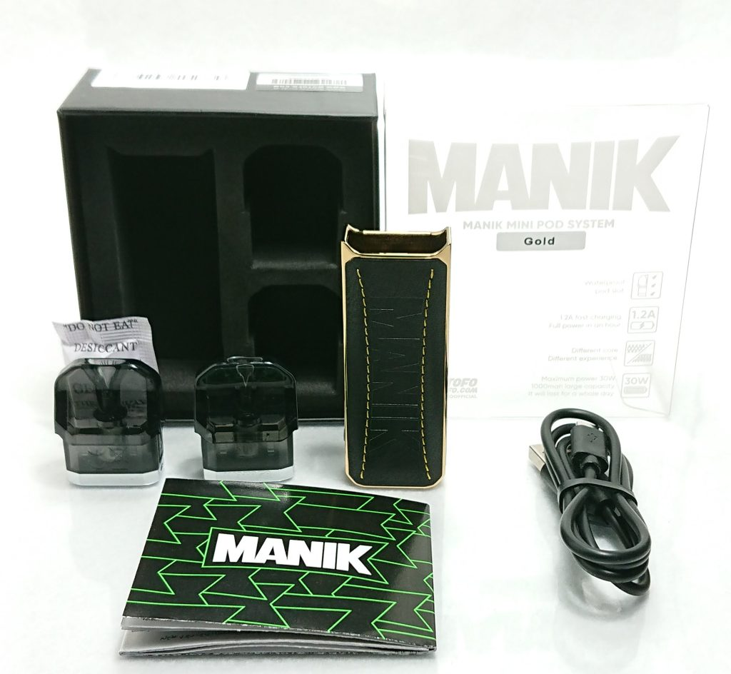 DSC 0320 - 【Wotofo】 Manik Mini Podをレビュー!~レザーが印象的なコンパクトPOD型デバイス~