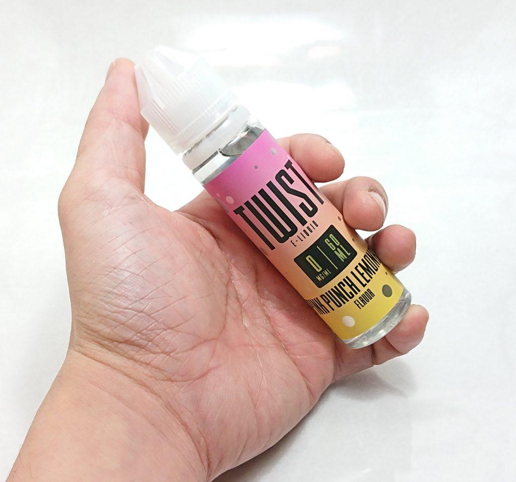 DSC 0016 - 【Lemon Twist】Pink Punch Lemonadeを購入!~レモネードとピンクグレープフルーツフレーバーリキッド~