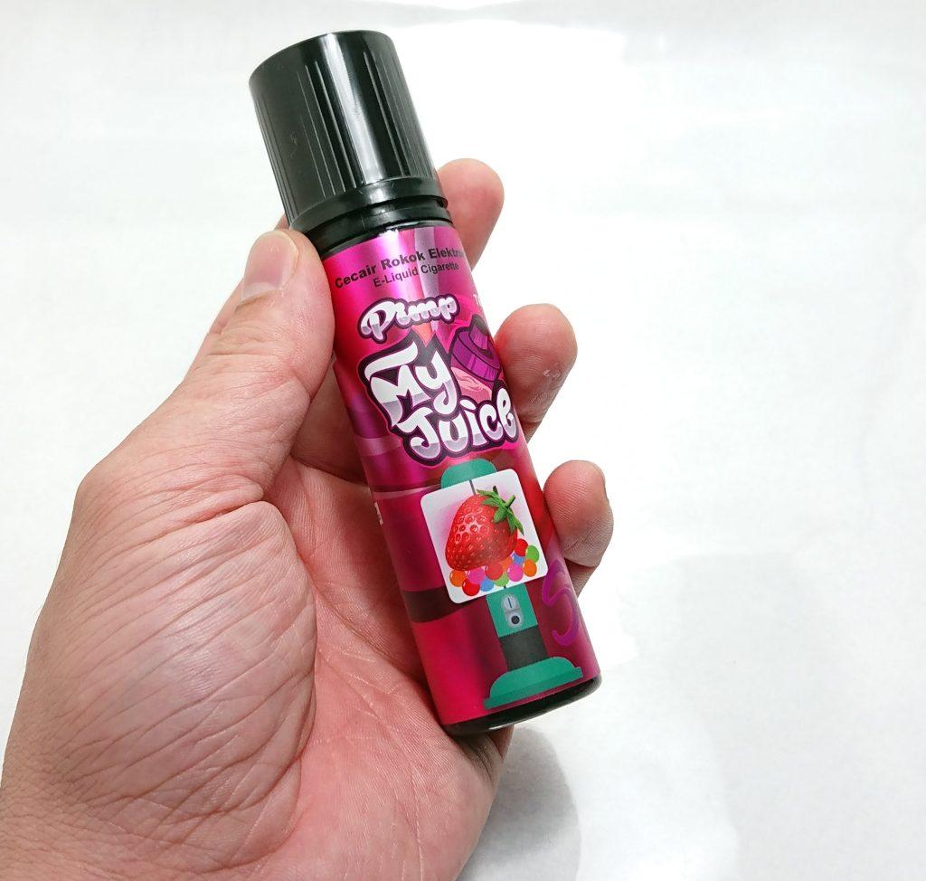 DSC 0687 - 【Pimp my Juice】Strawberry(ストロベリー)をレビュー!~いちごシロップフレーバー~