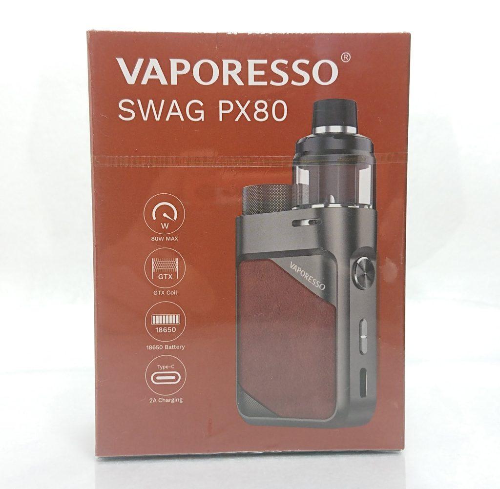 DSC 0698 - 【Vaporesso】SWAG PX80をレビュー!~ステルススクリーン搭載で18650バッテリー駆動の爆煙デバイス!~