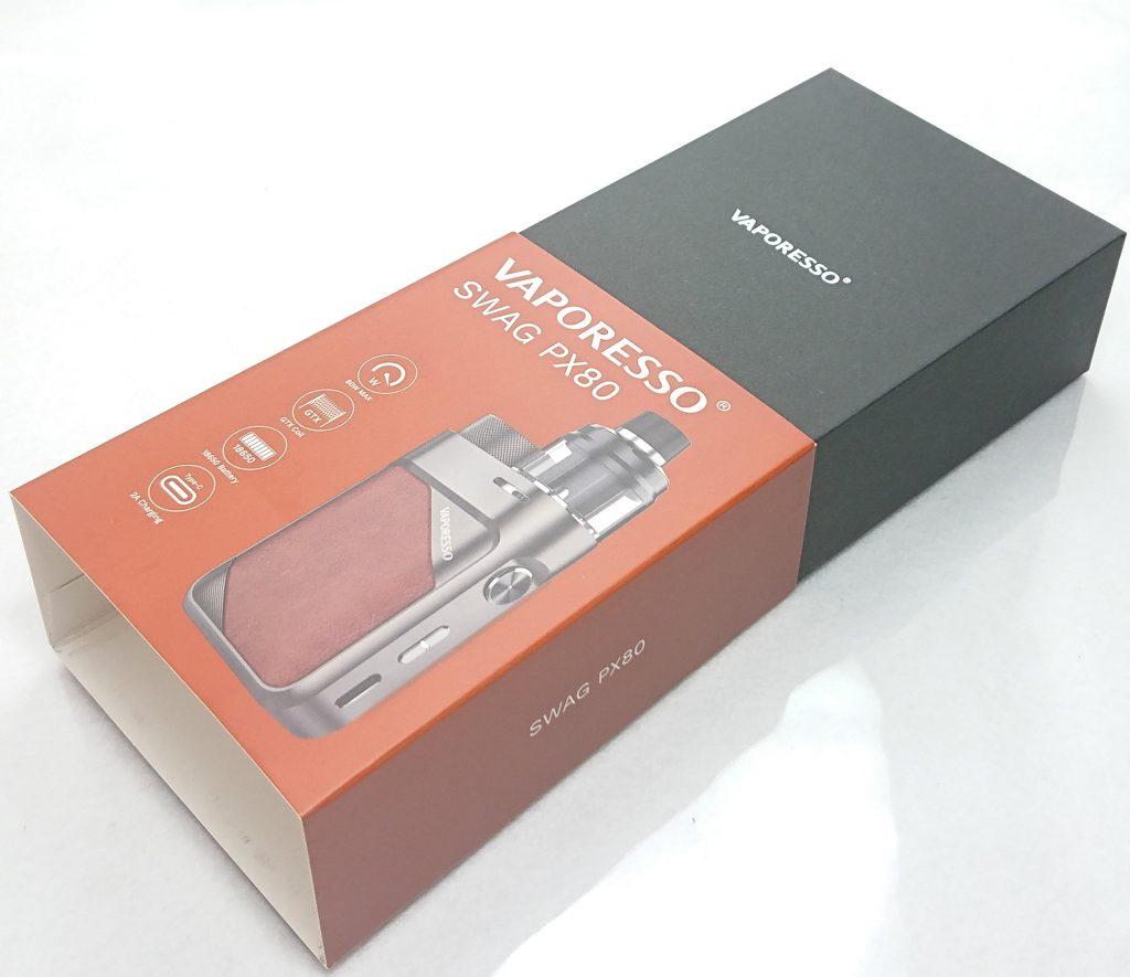 DSC 0701 - 【Vaporesso】SWAG PX80をレビュー!~ステルススクリーン搭載で18650バッテリー駆動の爆煙デバイス!~
