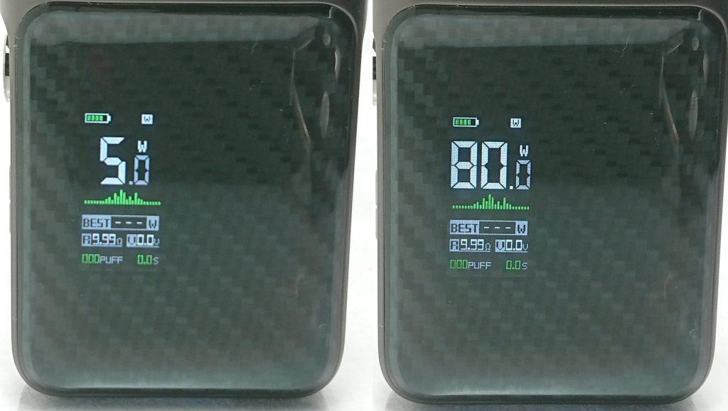 DSC 0720 horz - 【Vaporesso】SWAG PX80をレビュー!~ステルススクリーン搭載で18650バッテリー駆動の爆煙デバイス!~