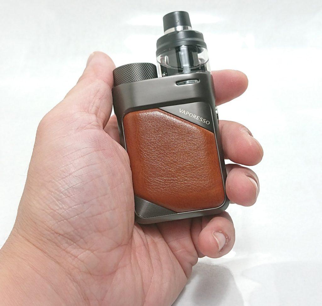 DSC 0752 - 【Vaporesso】SWAG PX80をレビュー!~ステルススクリーン搭載で18650バッテリー駆動の爆煙デバイス!~
