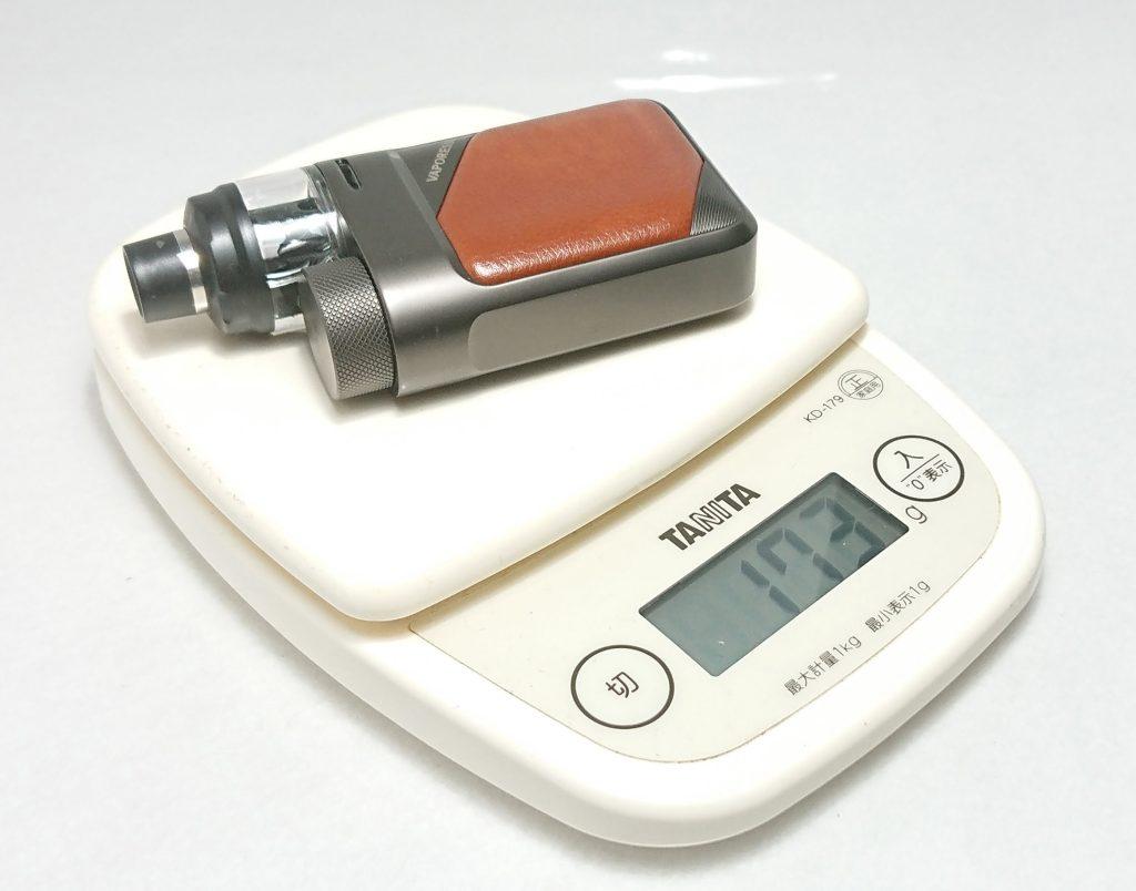 DSC 0753 - 【Vaporesso】SWAG PX80をレビュー!~ステルススクリーン搭載で18650バッテリー駆動の爆煙デバイス!~