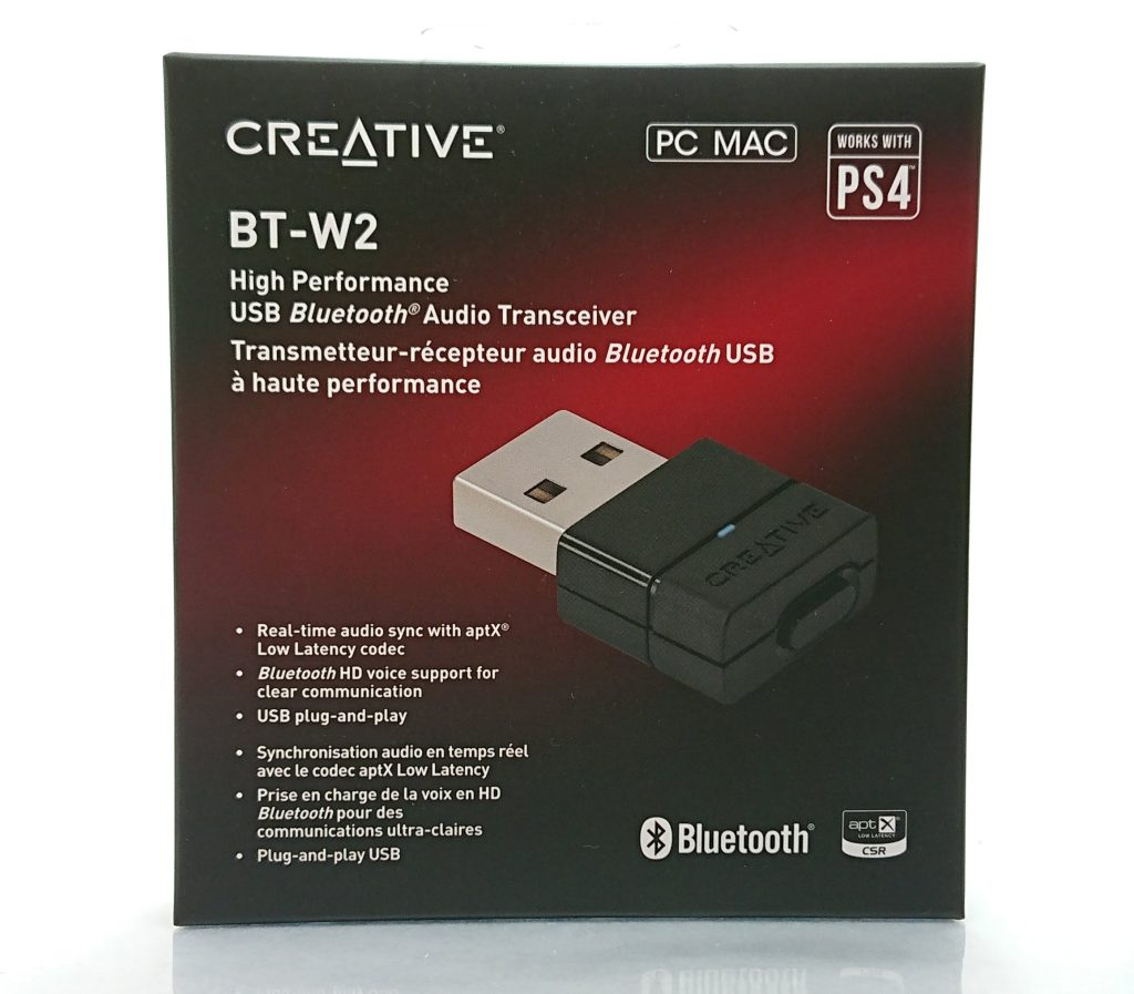 DSC 0836 - PS4でBluetooth機器(イヤホン・ヘッドホン)を接続させる方法~Creative BT-W2は良かったが…~