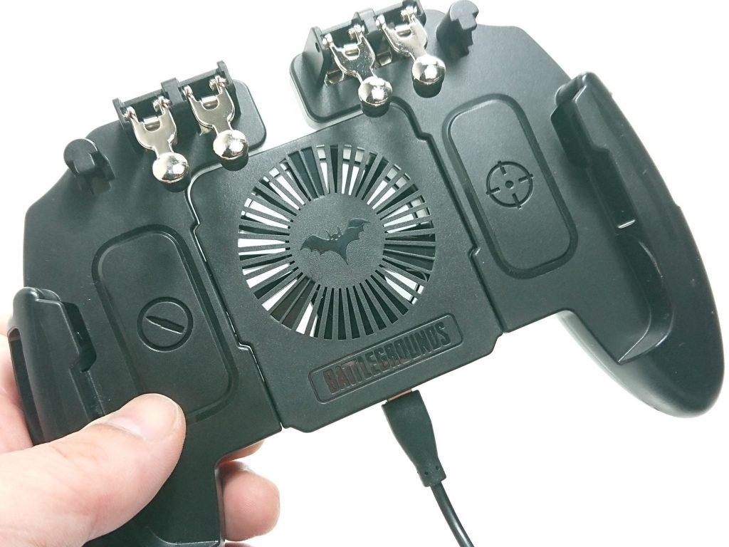 DSC 0961 scaled - トリガーが4本付いたスマホ用コントローラーをレビュー!~高いだけあるが、慣れが必要~