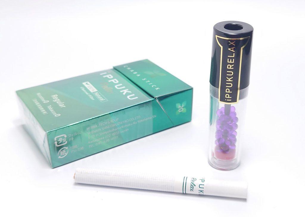 20210913 122300 - 【IPPUKU RELAX】ノーニコチン茶葉スティックをレビュー!~火を点けて吸う禁煙グッズ!~